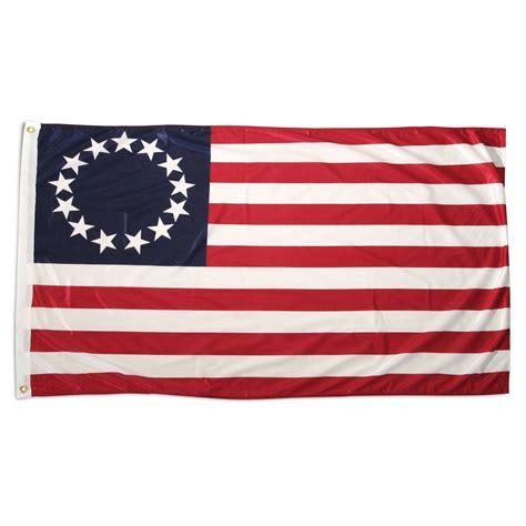 betsy ross 3ft x 5ft superknit polyester flag