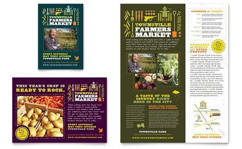 Farmers Market Flyer Ad Template Word Publisher Free Agriculture Flyer Templates