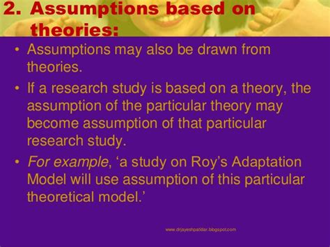 exle of research study paper exle of assumption in research paper 28 images exles