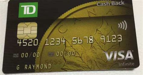 Can U Get Cash Back From A Visa Gift Card - canadian rewards td will issue 2 new credit cards in jun 2017