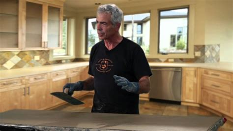 How To Make A Concrete Countertop In Place by How To Make A Cast In Place Countertop