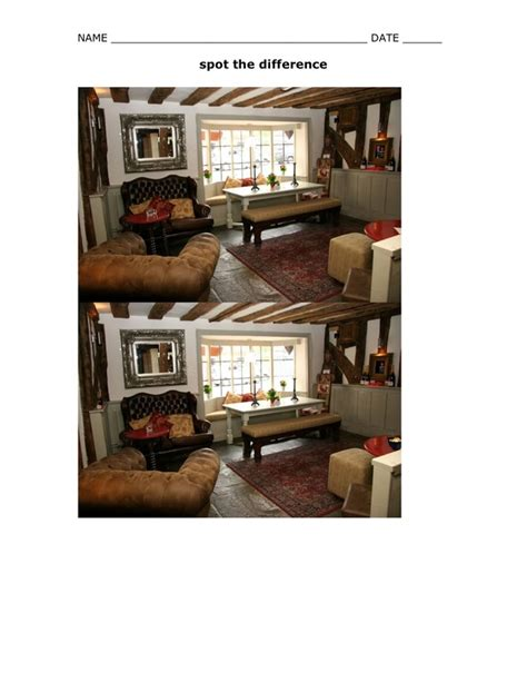 the main differences between a living room and a family room spot the difference esl with miriam
