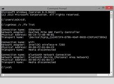 MAC Address in Windows: Change, Lookup, Spoofing Mac Spoofing