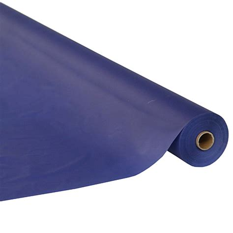 navy blue table covers navy blue table cover roll shindigz
