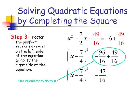 conic sections completing the square completing the square for conic sections ppt video