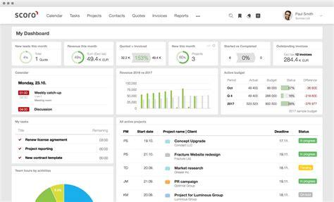 Business Management Software   Scoro