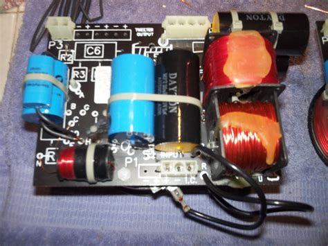 audiophile capacitor replacement photo gallery