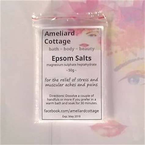 Aches During Detox by Epsom Salts For Aches Pains Detox Bath Sore