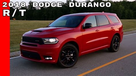 2018 Dodge Durango RT   YouTube