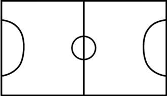 Soccer Pitch Template by Football Pitch Template Clipart Best