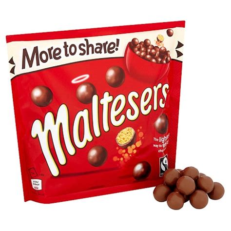 Maltesers Pouch 150g mars is set to make maltesers the shape of flat buttons in