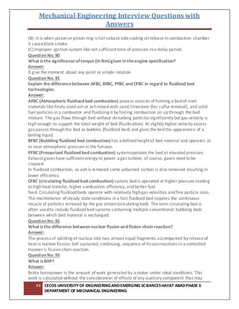 interview questions  answers  mechanical design