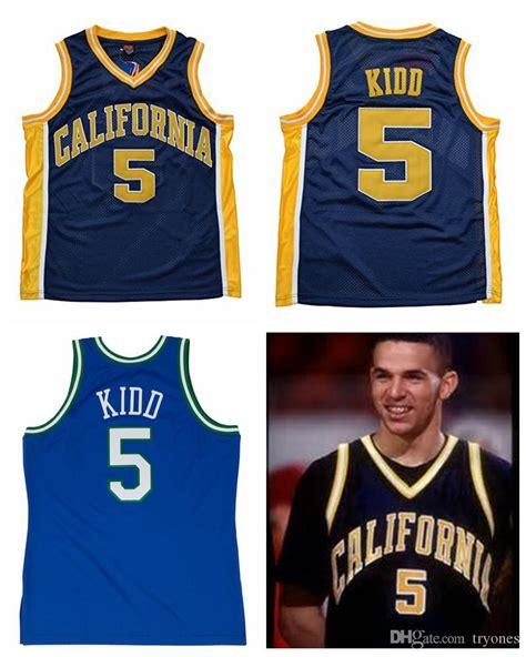 Jason Kidd 2 T Shirt 2017 throwback california golden bears jason kidd college
