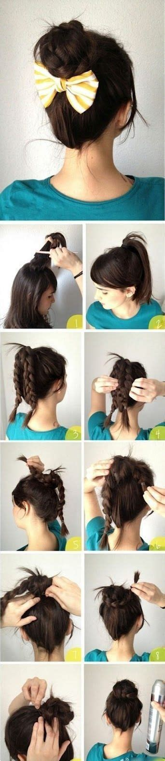 easy haircuts you can do at home 16 easy and creative hairstyles that you can replicate at home