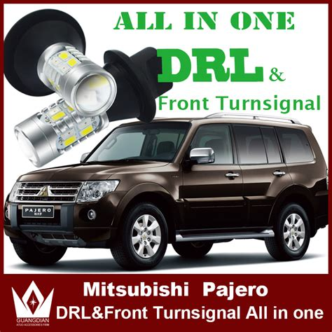 Fogl Pajero Sport Led With Drl Lord For Mitsubishi Pajero Sport Led Drl Daytime