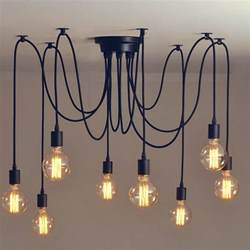 industrial lighting vintage retro pendant chandelier