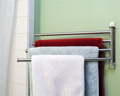 Towel Rack Ideas For Small Bathrooms Best 25 Bathroom Towel Bars Ideas On