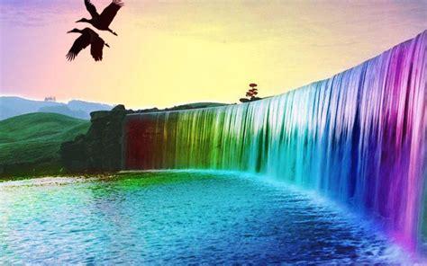 waterfall  wallpaper screenshot