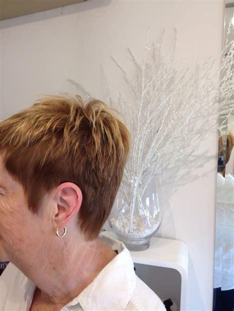 textured lob by kahli pierrot s hair studios mt lawley kalamunda short cropped textured hair cut empyre hair studio hair