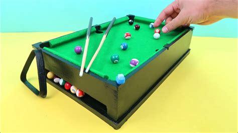 diy mini pool table mini pool table miniature billiards made out of