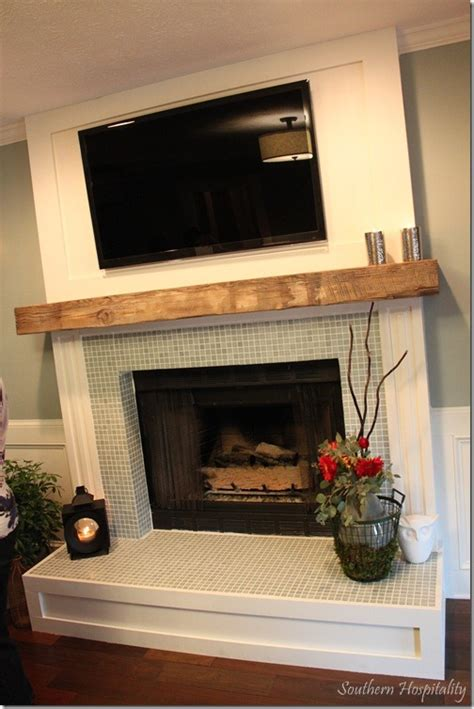 Tiles Fireplace by Tile Around Fireplace On Subway Tile Fireplace