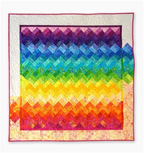 rainbow zig zag quilt pattern 490 best images about rainbow quilts on pinterest quilt