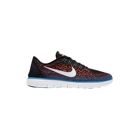 Nike Free Mens Running Black White nike orange running shoes nike free rn distance s