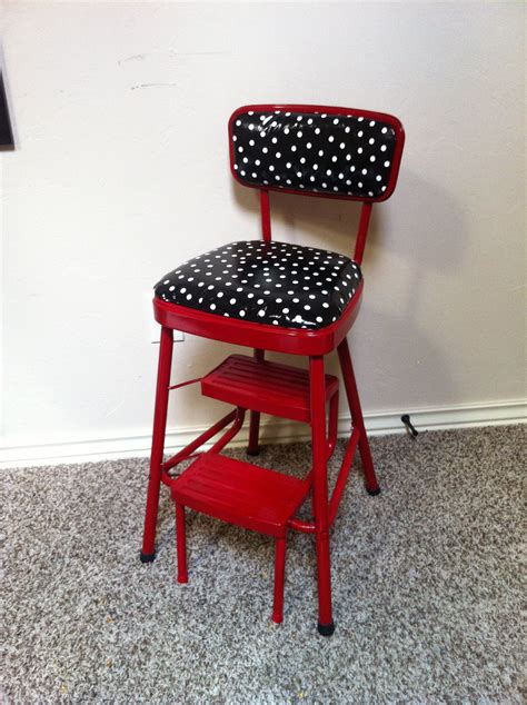 retro kitchen step stool nz redo on retro kitchen step stool chair in and black