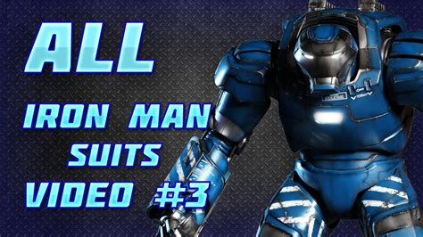 Tony Stark Suits by All Iron Man Suits Video 3 The Ultimate Guide Youtube