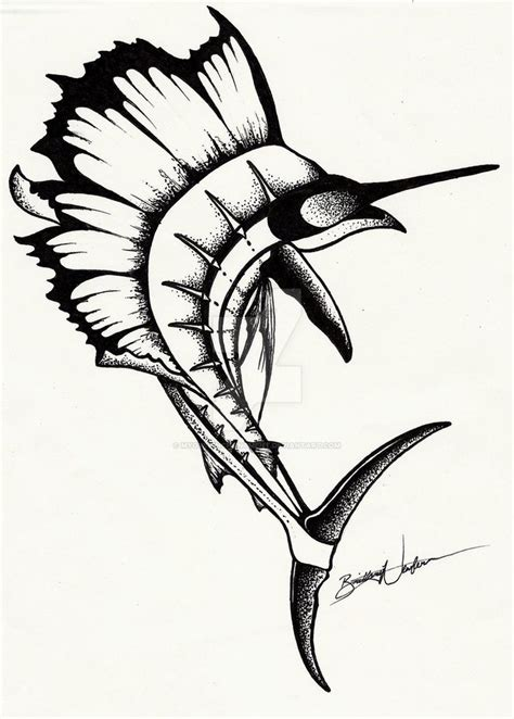 swordfish tattoo 59 best marlin swordfish images on