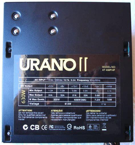 Nox Urano Ii 630w ultra review psu nox urano ii 630w al detalle islabit