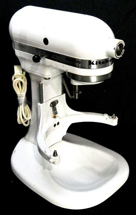 Kitchenaid Heavy Duty K5sswh Mixer kitchenaid k5ss heavy duty commercial 325 watts stand