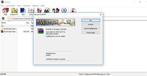 full version software blogspot com download winrar 5 50 beta 2 full version kluat computer
