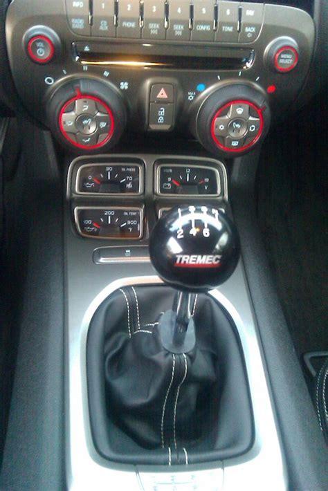 Tremec Shift Knob by New Black Shift Knob For Hurst Throw Camaro5 Chevy
