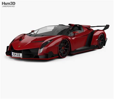 lamborghini veneno roadster   model vehicles  humd