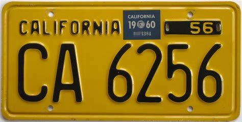California License Plate Lookup Click On Image For Larger Picture And Description