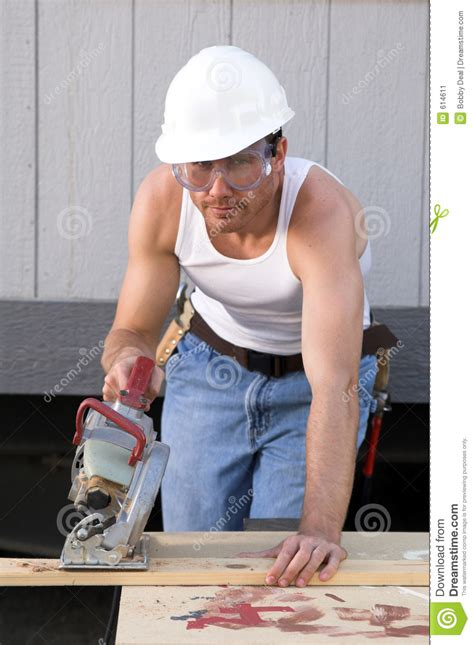 construction worker stock image image 614611