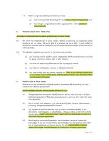 company social media policy template template social media policy hashdoc