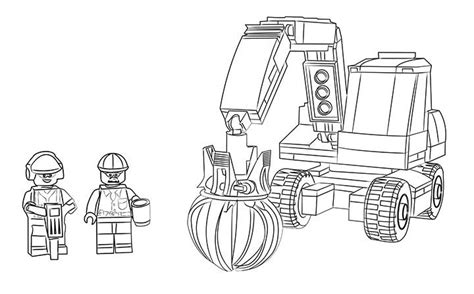 lego monster truck coloring page lego coloring page 60075 excavator and truck coloring