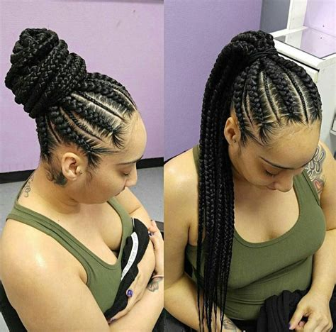 hair pony tailforafrican hair best 25 goddess braids ideas on pinterest