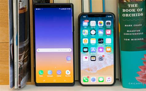 iphone xs vs galaxy note 9 why apple s wins