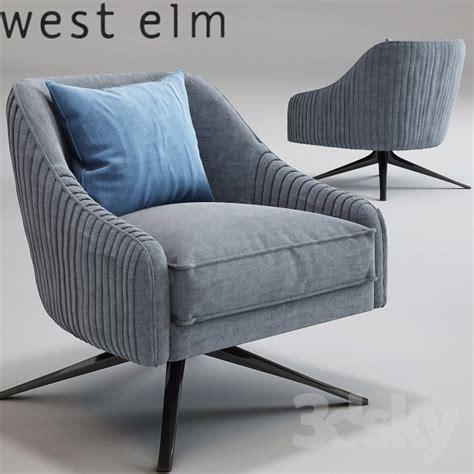 west elm swivel chair 3d models arm chair roar rabbit swivel chair imported