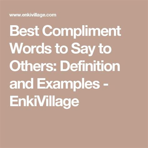 best compliments words the 25 best compliment words ideas on