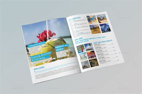 indesign bi fold brochure template 15 tourism brochure template word psd indesign and