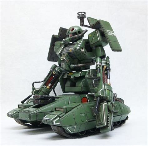 Haro Collection Gundam Green Zeon Zaku custom zaku tank zeon principality tanks