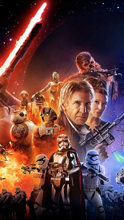 Wars The Awakens Poster Iphone All H wars the awakens iphone wallpapers