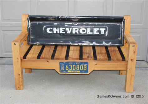 bench made from tailgate tailgate bench by jim lumberjocks com woodworking community
