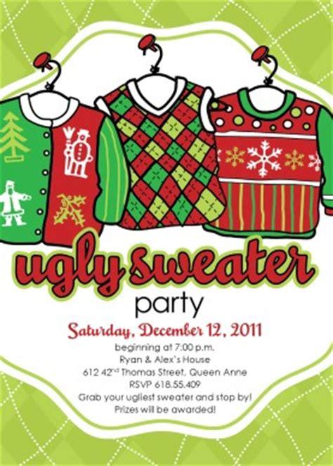 free printable sweater invitations printable sweater invitation template