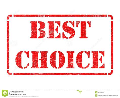 best choice best choice on rubber st royalty free stock