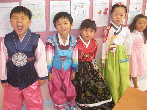 Baju Setelan Cutetime Set Yellow Stripe Story lunar new year s hanboks for children hallyu cafe